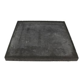 1m2 Betontegel tuin F25 basic plus Black 60x60x4,7cm